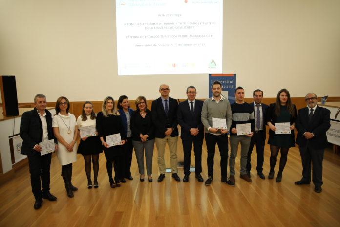 Premios Cátedra de Estudios Turísticos Pedro Zaragoza Orts de la UA