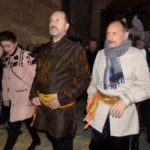 Alcalde en la Inauguración del Mercado Medieval