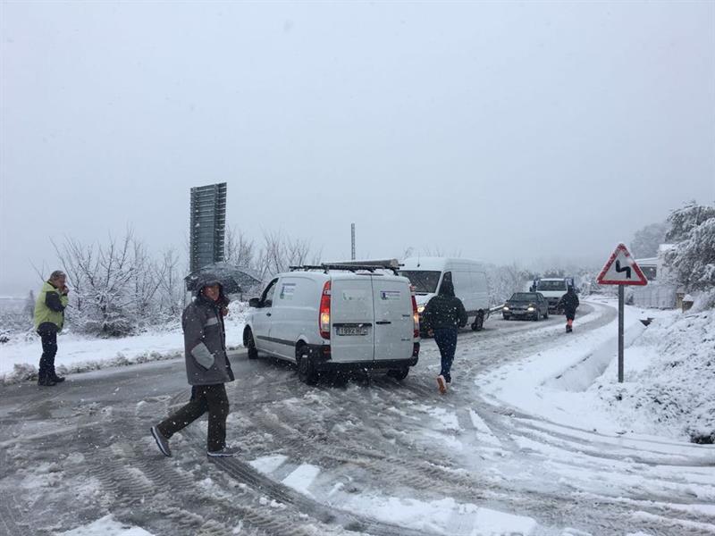 vehículos bloqueados