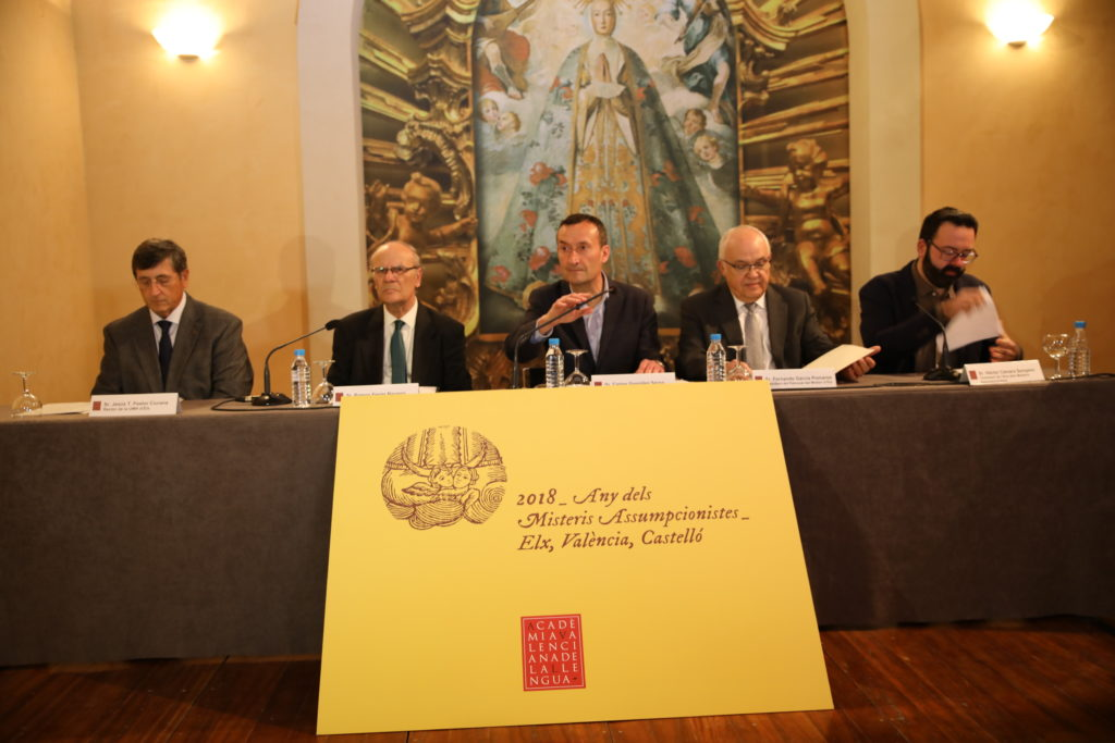 Misteris Assumpcionistes Diario de Alicante