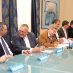 La firma del Pacto Provincial del Agua que reconoce el déficit hídrico que padece la provincia