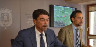 Plan de Asfaltado Diario de Alicante