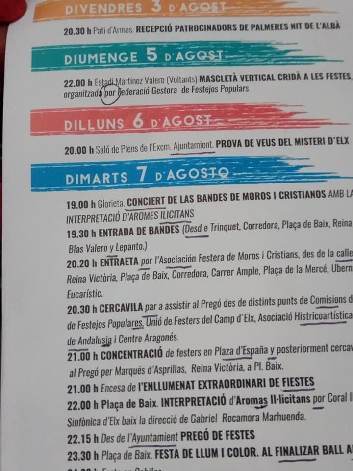 Nit de l'Albà Diario de Alicante