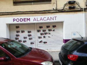 carteles adhesivos Diario de Alicante