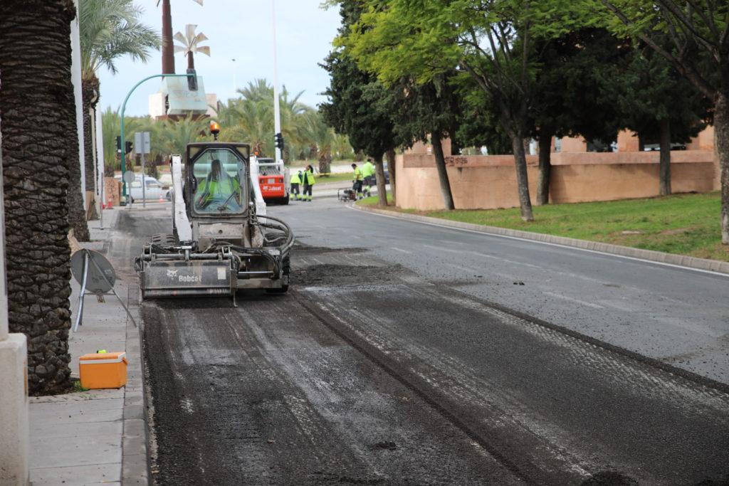 asfaltado Diario de Alicante