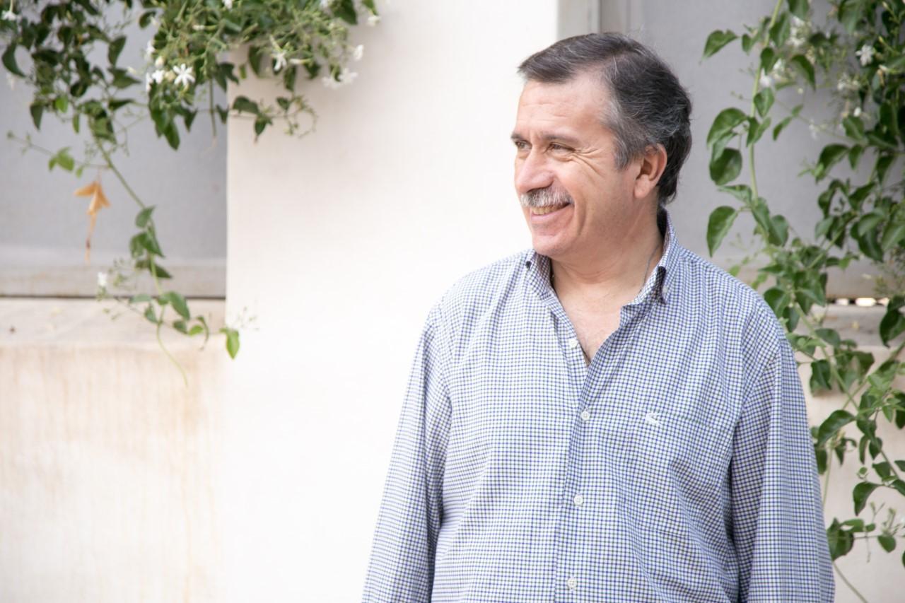 Manuel Aracil, alcadable del PP en Sant Joan , posando sonrientes / PP Sant Joan