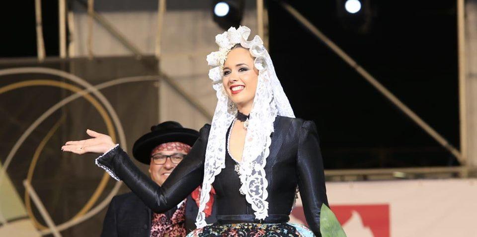 Isabel Bartual, Bellea del Foc 2019 en el día de su proclamación / Cano Fotografías