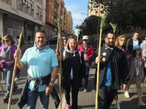 Mario Ortolá durante la romería de la Santa Faz / Mario Ortolá