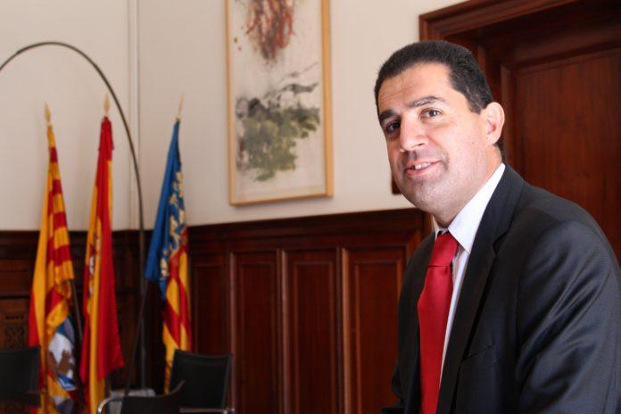 Toni Francés, portavoz del PSOE en la Diputación de Alicante