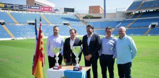 """Barcala en la presentación del """"XXVI Trofeo Ciudad de Alicante"""" celebrada en el Rico Pérez / Ayuntamiento de Alicante"""