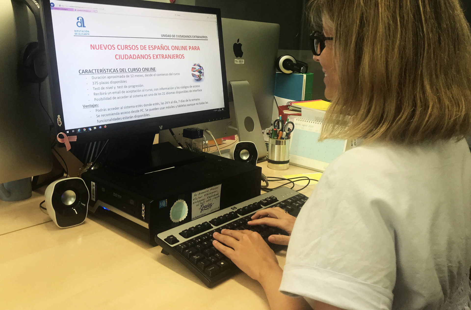 Los nuevos cursos de español para extranjeros de la Diputación de Alicante / Diputación de Alicante
