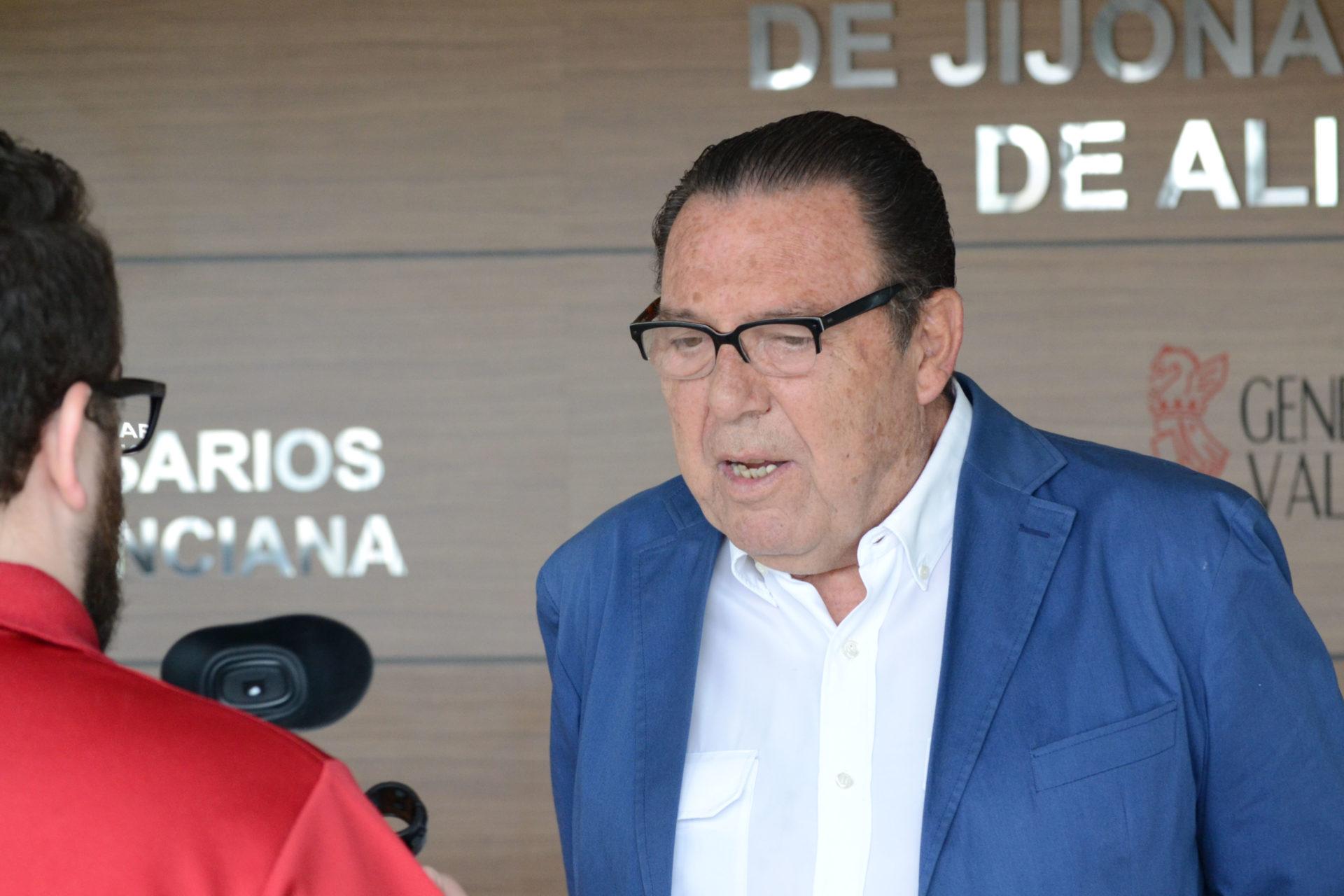 José Enrique Garrigós, prestigioso empresario turronero/ Ayuntamiento de Xixona