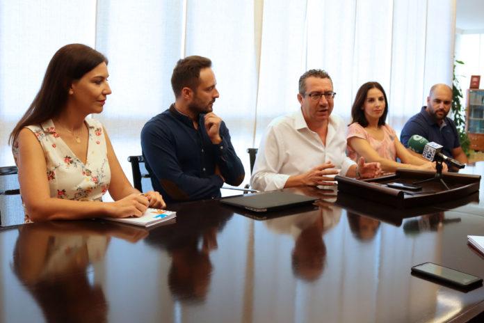El alcalde de Benidorm, Toni Pérez / Ayuntamiento de Benidorm