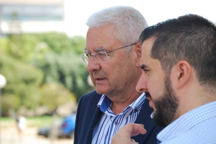 Los concejales de VOX en la ciudad de Alicante, Mario Ortolà y Pepe Bonet / VOX Alicante
