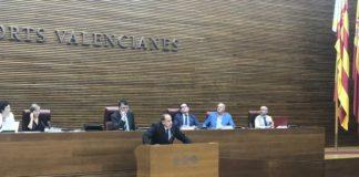 David García, diputado autonómico de VOX, hablando en una intervención en Les Corts /VOX Alicante