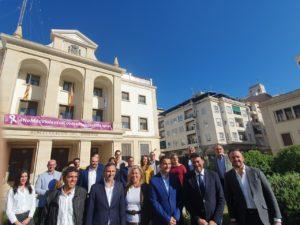 Panorámica con todos los candidatos del PP Alicante para el 10-N / Alex Ferrer