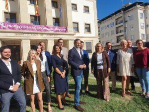Los candidatos de la lista del PP Alicante para el Congreso, César Sánchez en el centro de la foto / Alex Ferrer