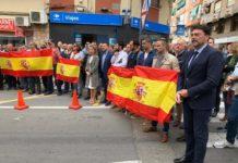 PP y Cs Alicante acudiendo a la concentración de apoyo a la Policía Nacional y Guardia Civil tras los actos violentos de Cataluña / Ayuntamiento de Alicante