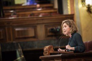 Marta Martín interviniendo en el Congreso de los Diputados / Marta Martín