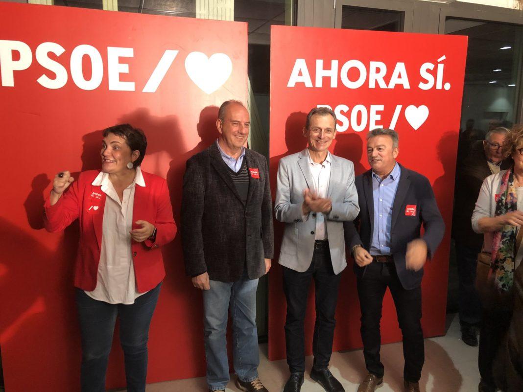 Pedro Duque liderando el cierre de campaña del PSOE en Alicante / PSOE Alicante