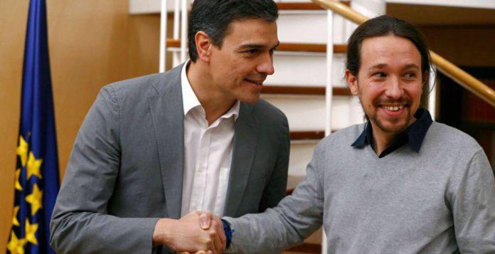 Pedro Sánchez y Pablo Iglesias / El País