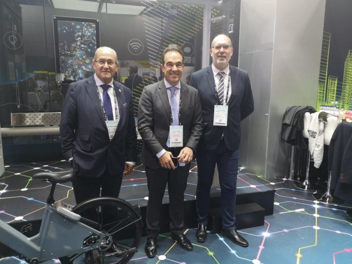Los concejales González, Peral y Villar en la feria Smart City Expo Congress de Barcelona / Ayuntamiento de Alicante