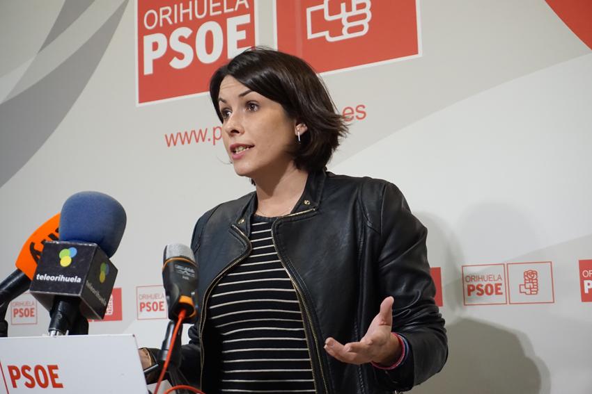 Carolina Gracia, líder del PSOE de Orihuela.