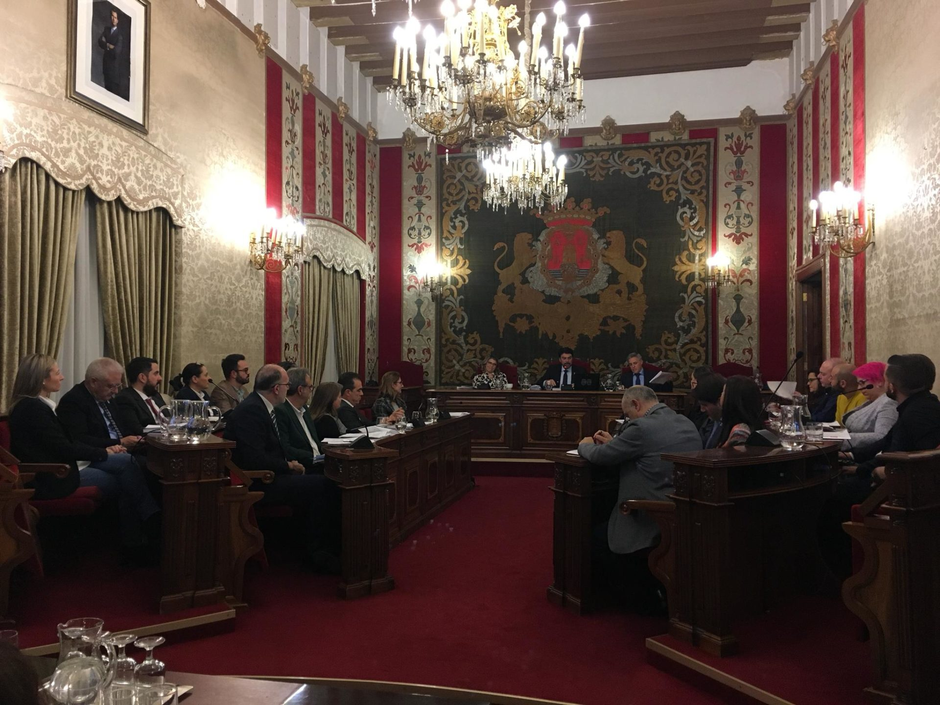 El Pleno de diciembre en el Ayuntamiento de Alicante / Ayuntamiento de Alicante