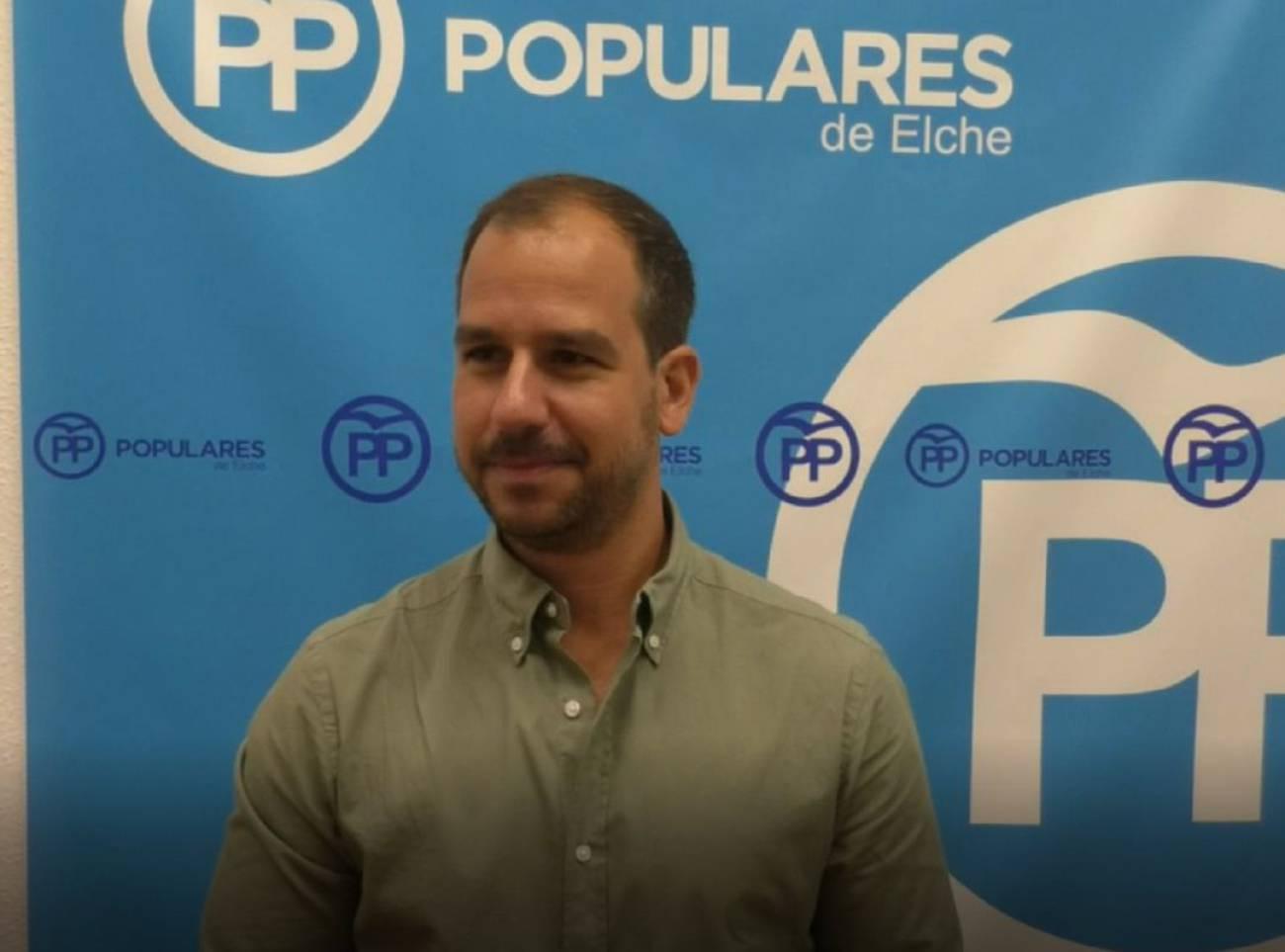 José Navarro, portavoz adjunto del PP de Elche