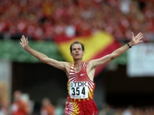 Abel Antón, doble campeón mundial