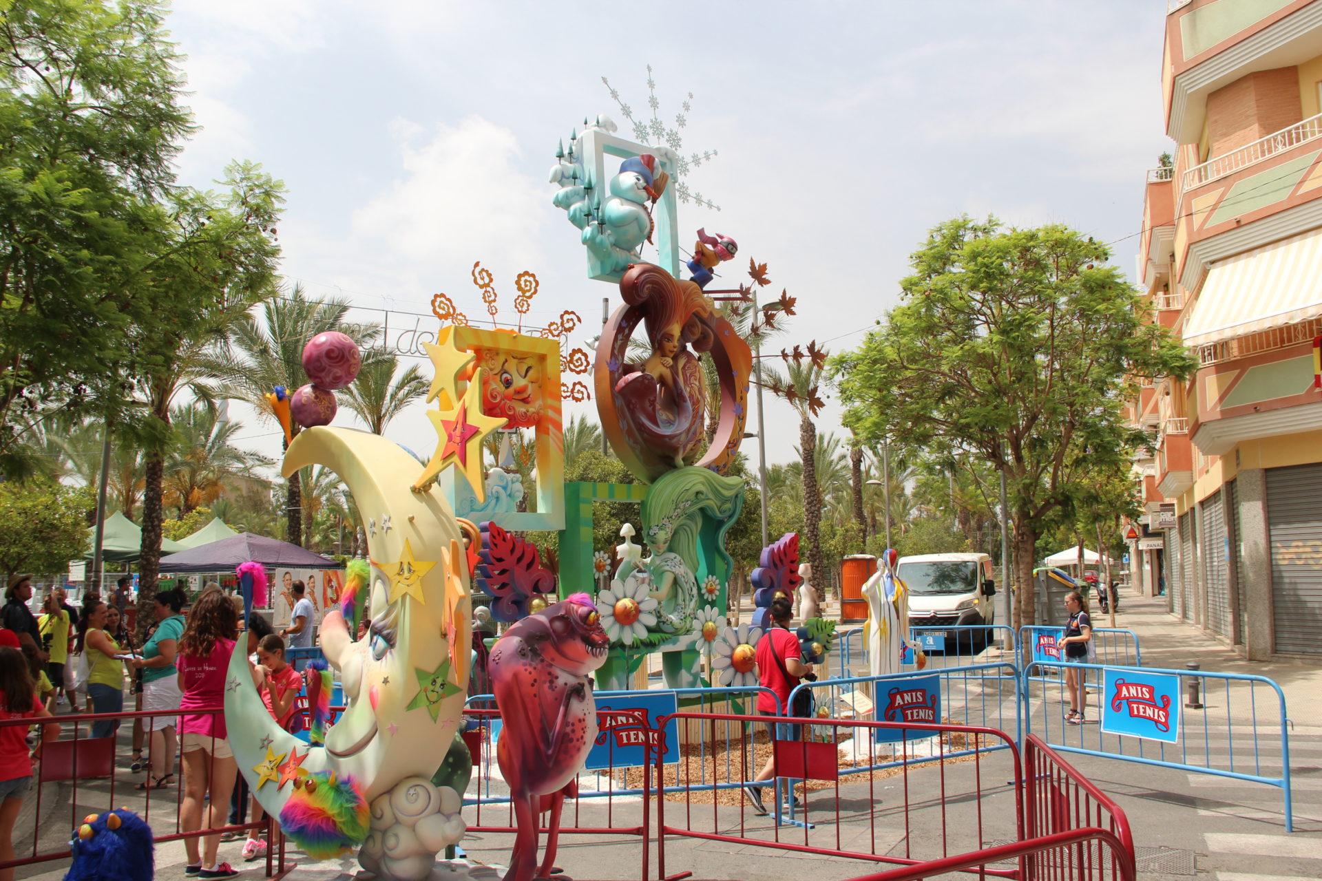 Hogueras San Vicente del Raspeig