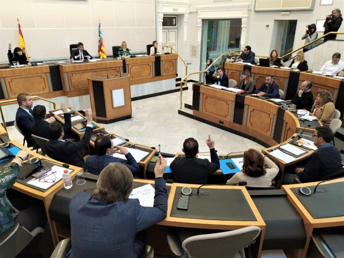 Pleno 15 enero Diputación de Alicante