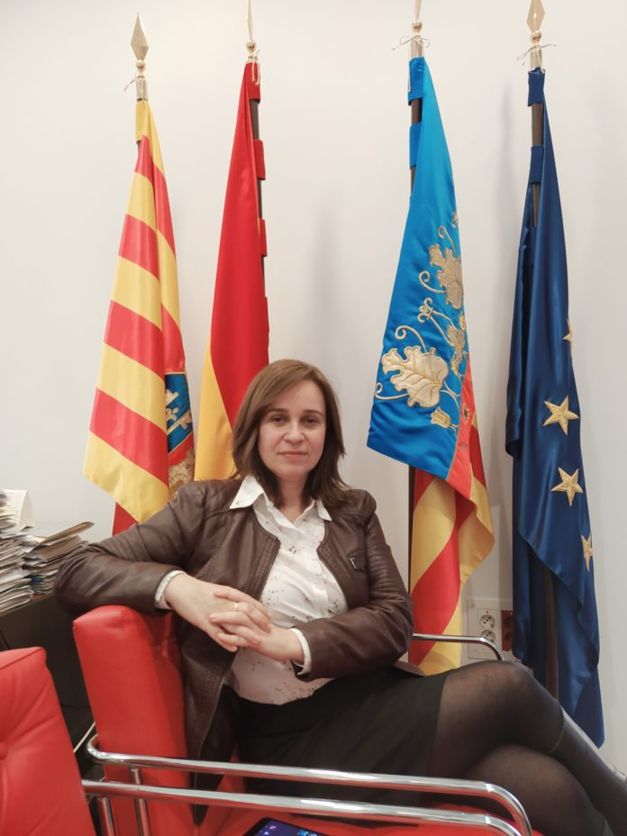 Isabel López, alcaldesa de Xixona