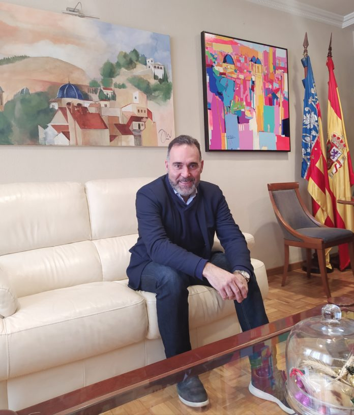 Rafael Serralta, alcalde de Ibi
