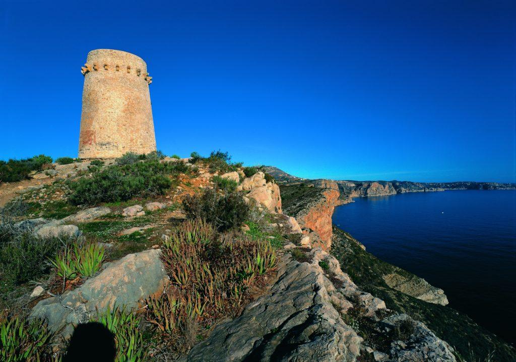 Torre Vigia Cap d'Or (Imagen: Turismo Teulada Moraira)