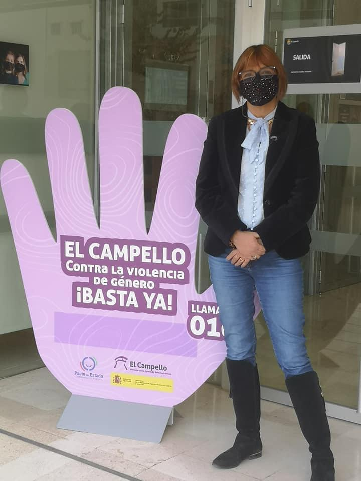 Mercè Pairó, concejala de Mujer e Igualdad de El Campello