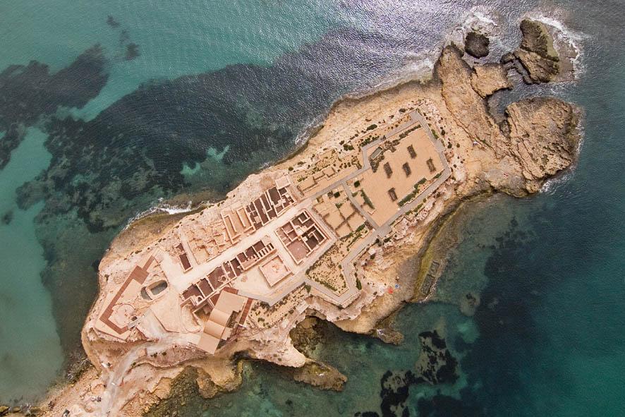 La Illeta, yacimiento arqueológico en El Campello (Imagen de www.marqalicante.com)
