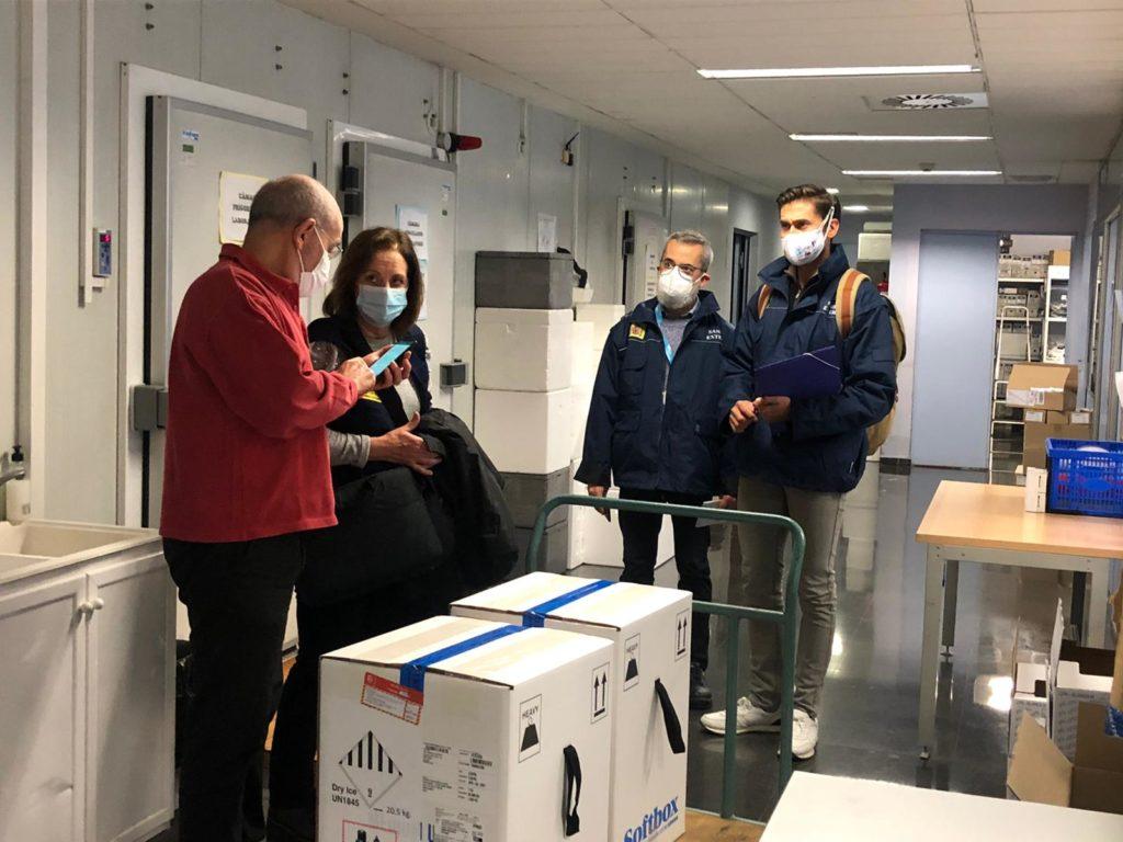 Reanudación vacunas Comunitat Valenciana