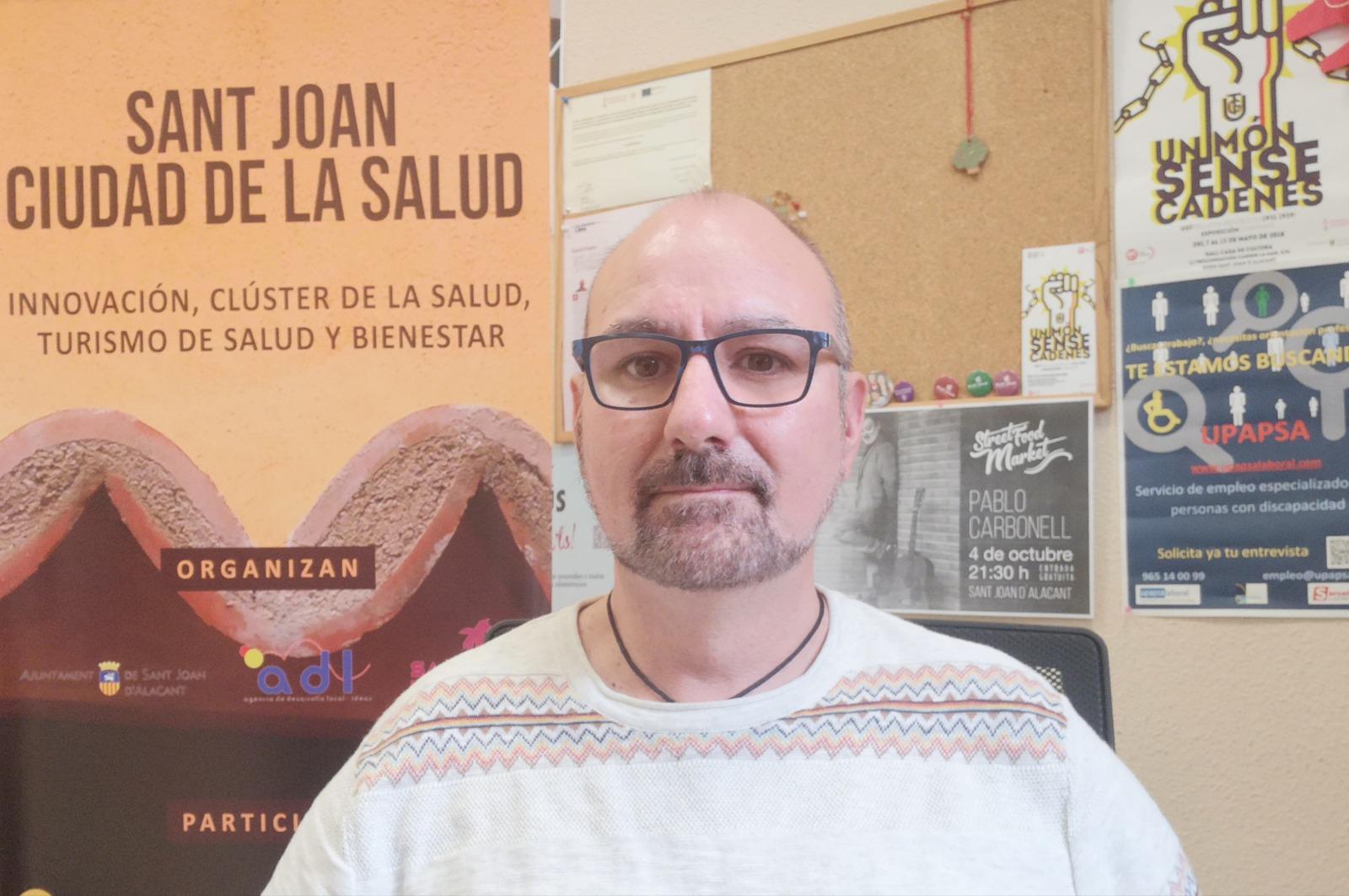 Manel Giner, concejal del Ayuntamiento de Sant Joan
