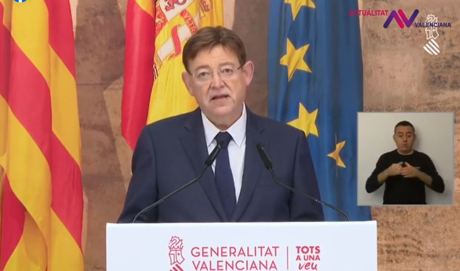 relajacion de medidas comunitat valenciana