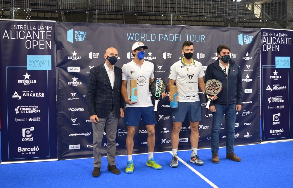 ganadores trofeo internacional padel alicante