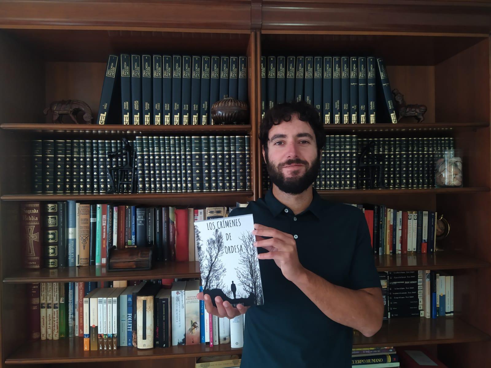 Héctor Martínez, autor del libro