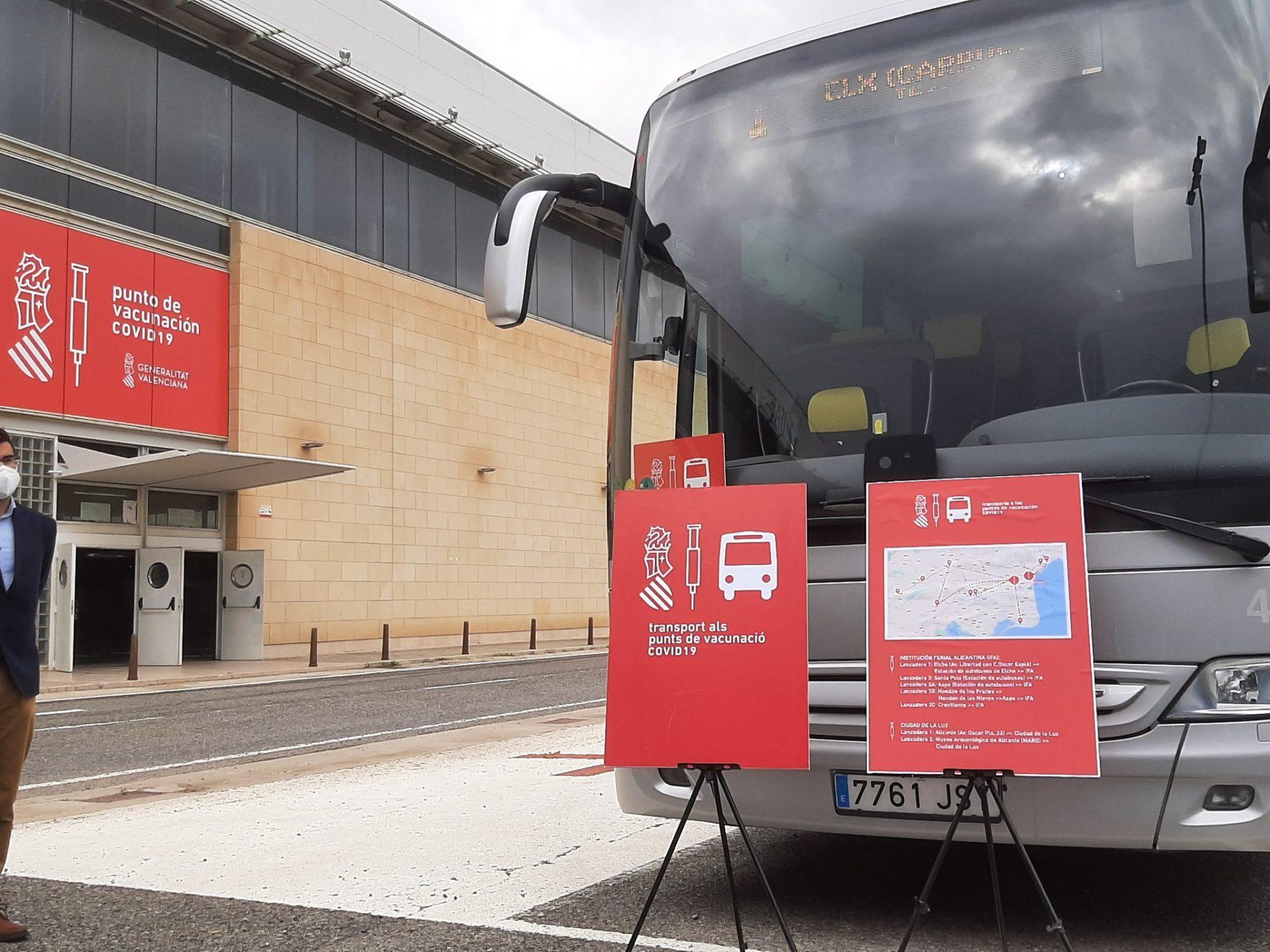 vacuanción servicio autobús