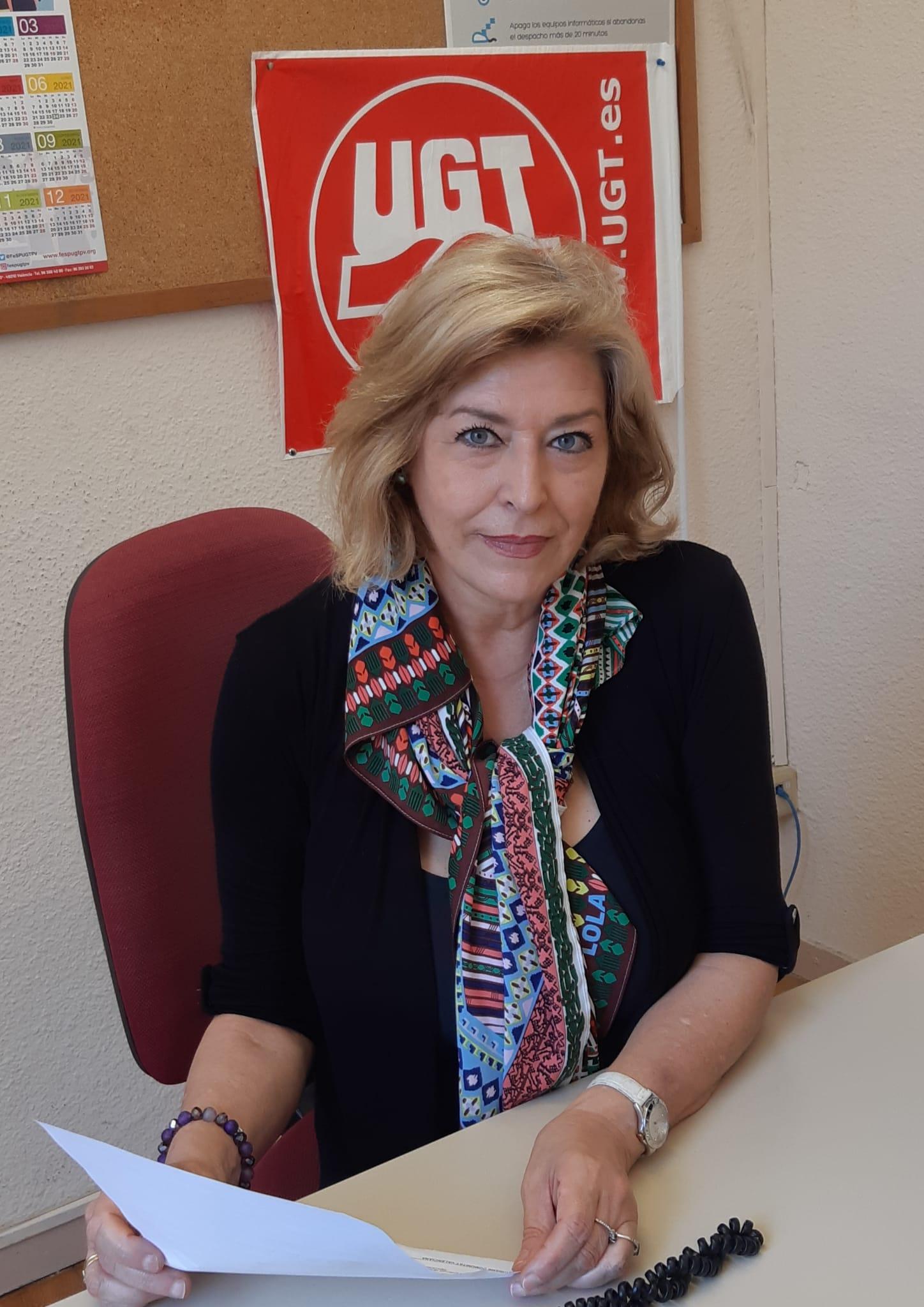 Marisa Navarro, secretaria general UGT Alicante