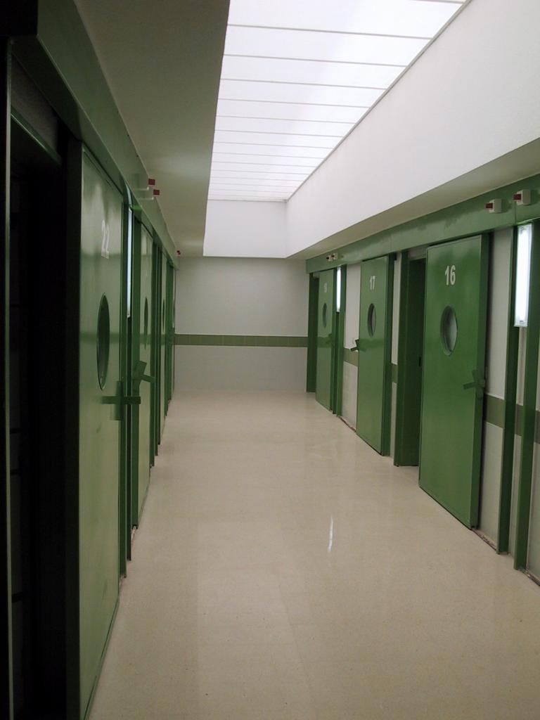 Área de Enfermería de la prisión de Villena (Alicante)