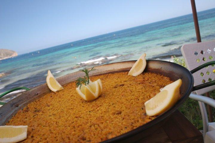 Paella típica de Teulada-Moraira