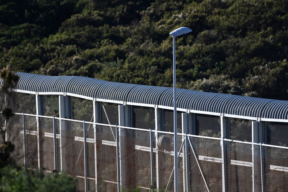 Cierre perimetral vallado de la frontera de Ceuta