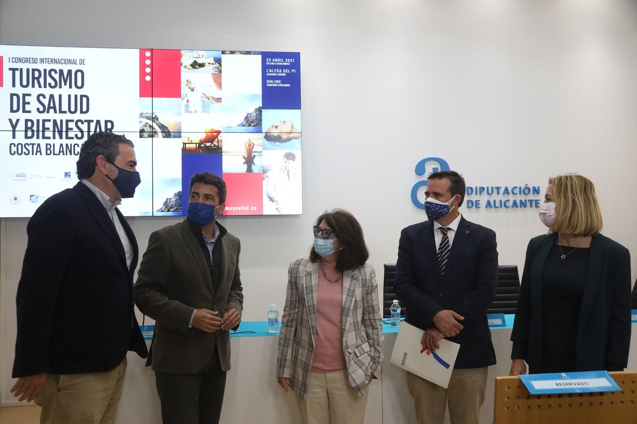 Diputación de alicante en el Congreso de Turismo Salud