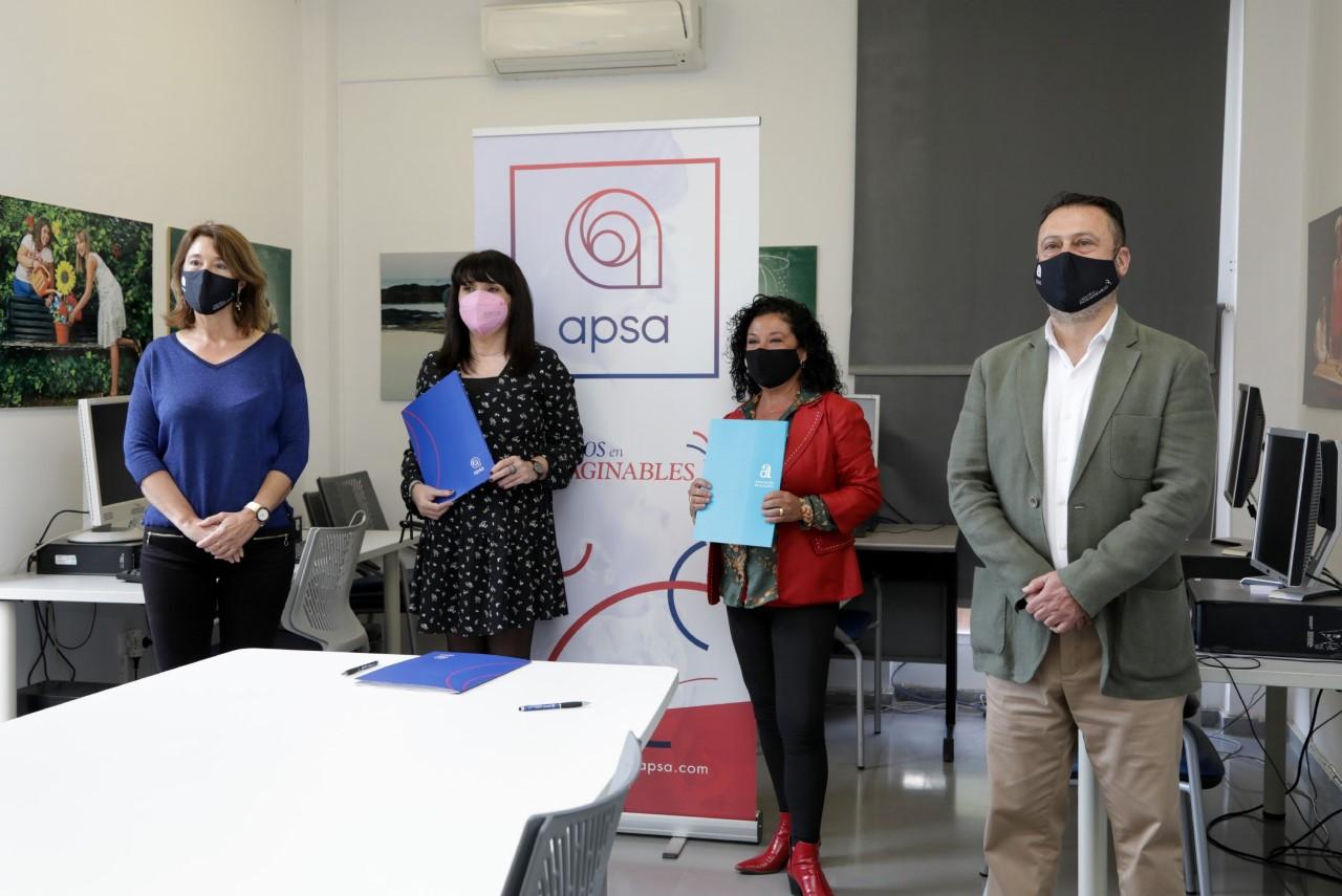 La Diputación de Alicante recibe a la asociación APSA