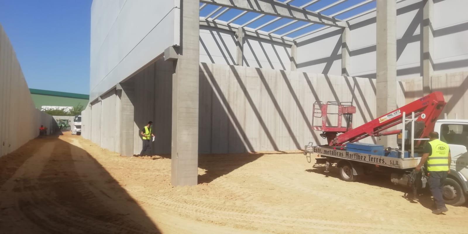 Construcción de la planta de Dolores